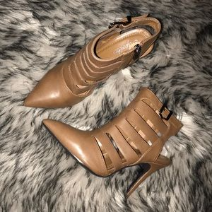 Shoes - Brown Stiletto Heels